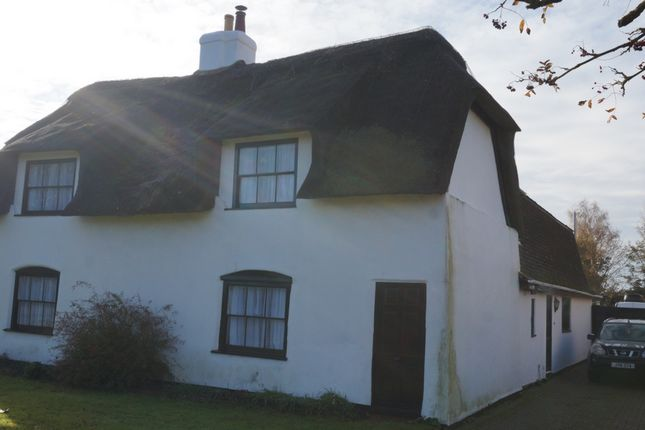 Thumbnail Terraced house for sale in North Green, Coates, Whittlesey