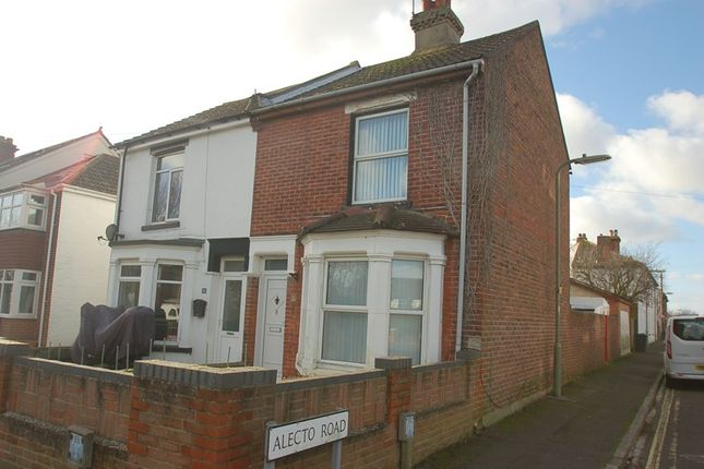 Thumbnail Semi-detached house for sale in Park Road, Alverstoke, Gosport