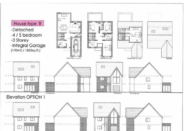 Thumbnail Detached house for sale in Plot 3, Waterton Lane, Waterton, Bridgend.