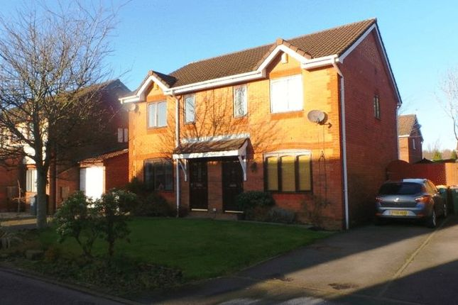 Thumbnail 3 bed semi-detached house for sale in Leesands Close, Fulwood, Preston