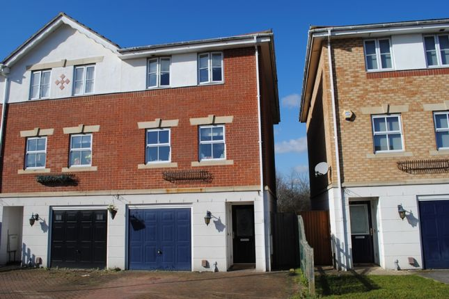 Thumbnail End terrace house to rent in Bancroft Chase, Hornchurch