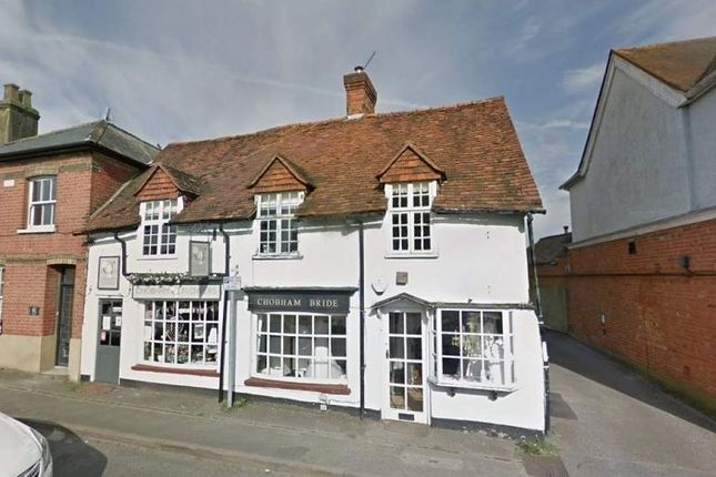 Thumbnail Commercial property for sale in 69 - 71 High Street, Chobham