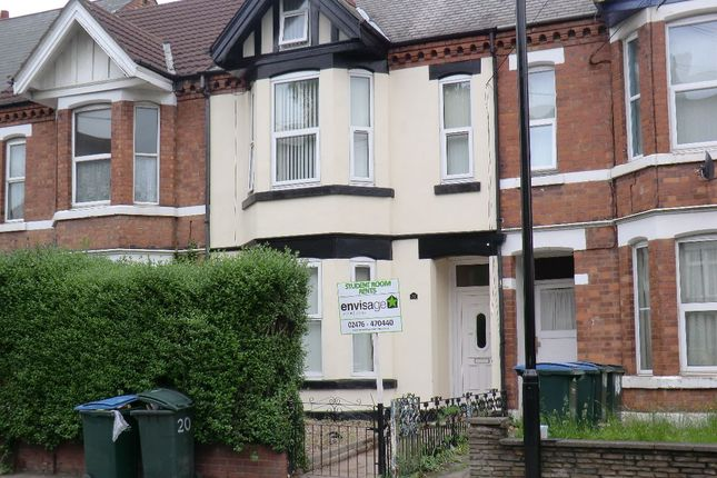 Thumbnail Shared accommodation to rent in Coundon Road, Coventry