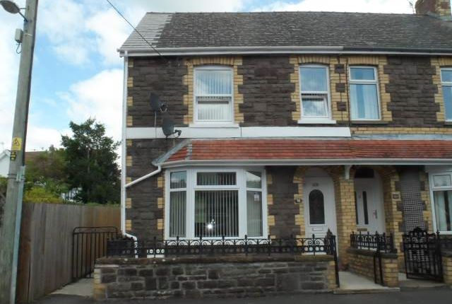 Thumbnail Semi-detached house to rent in Clifton Road, Abergavenny