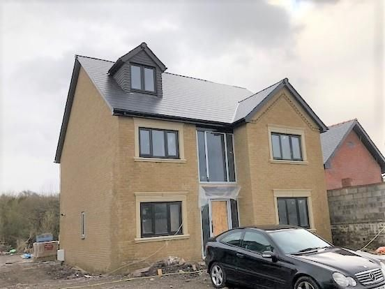 Thumbnail Detached house for sale in Westfield Road, Waunarlwydd, Swansea