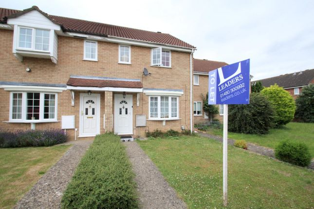 Thumbnail End terrace house to rent in Nene Way, St. Ives, Huntingdon