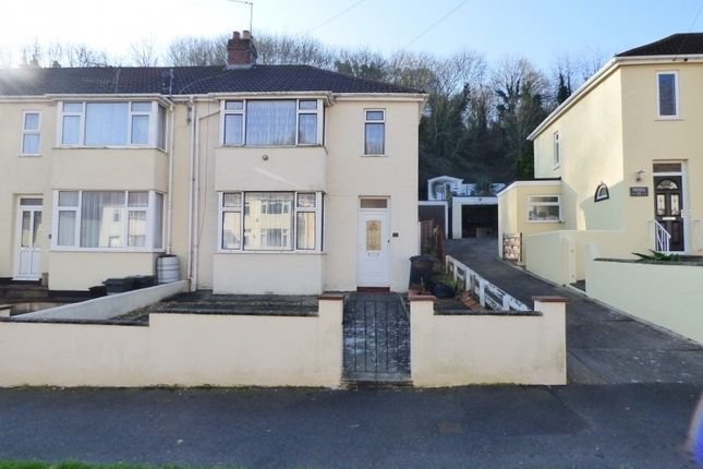 Thumbnail Semi-detached house for sale in Sherwell Valley Road, Torquay