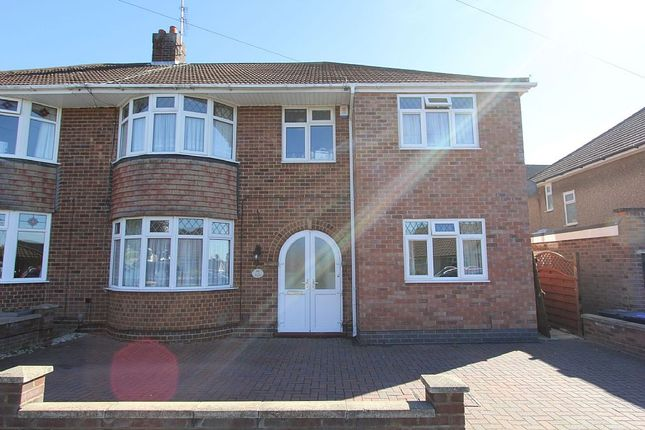 Thumbnail Semi-detached house for sale in Thornby Drive, Northampton, Northamptonshire