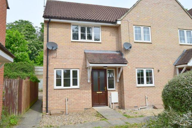 Thumbnail End terrace house for sale in La Salle Close, Ipswich
