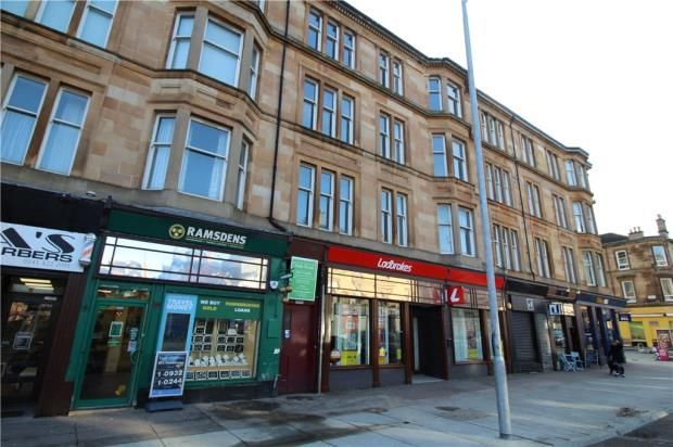 Thumbnail Flat to rent in Victoria Road, Glasgow, Lanarkshire
