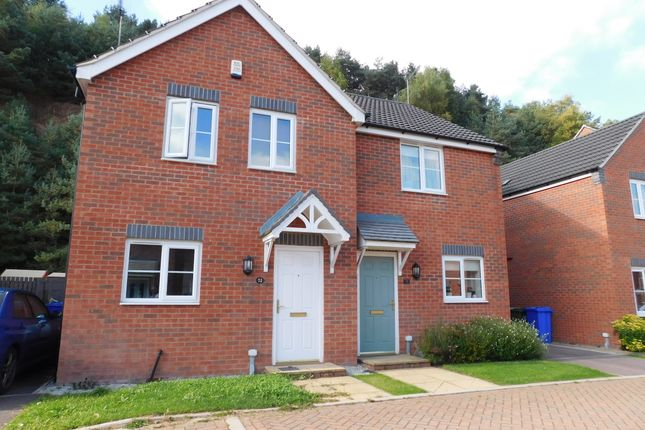 Thumbnail Semi-detached house to rent in Stone Bank, Berry Hill, Mansfield