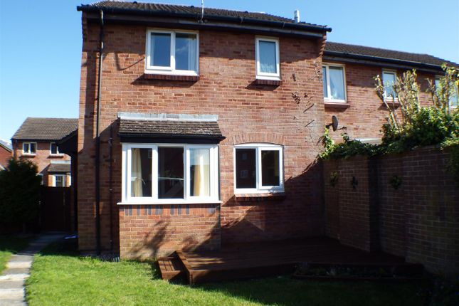 Thumbnail End terrace house to rent in Phipps Close, Westbury