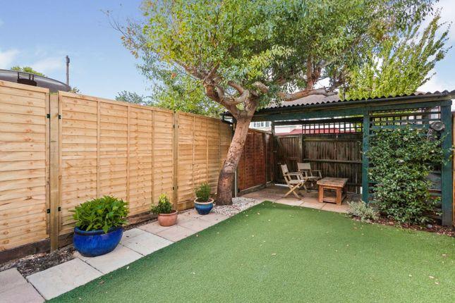 Garden of Fortescue Road, Wimbledon SW19