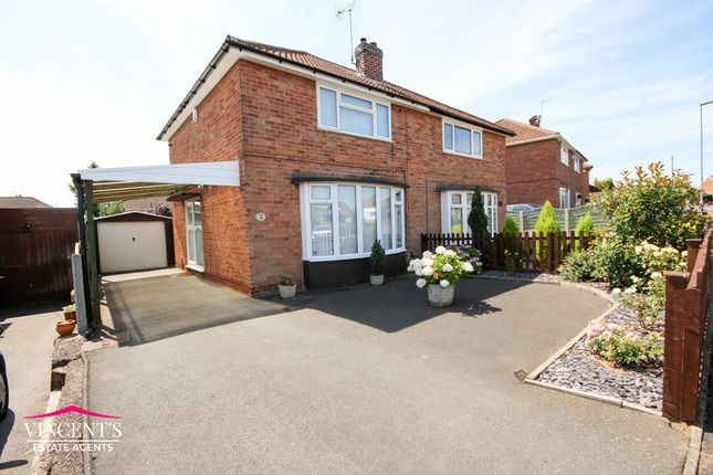 2 bed semi-detached house for sale in Woodcote Road, Leicester