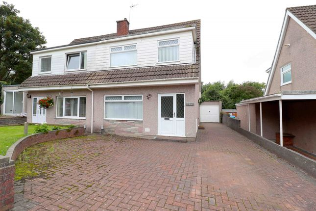Thumbnail Semi-detached house for sale in Penuel Close, Swansea