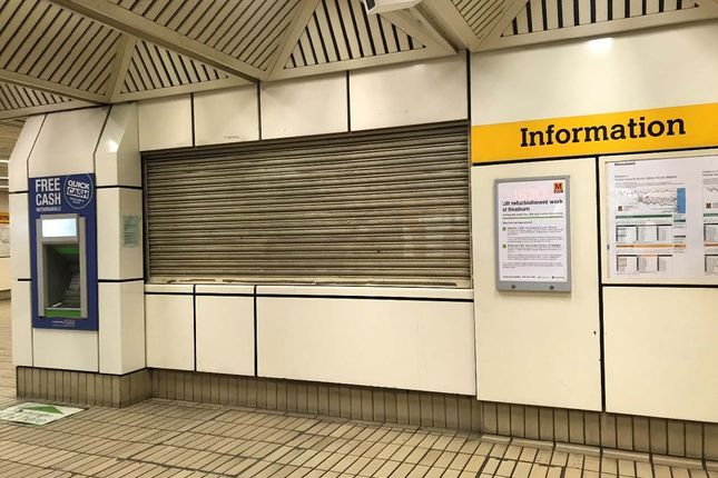 Retail premises to let in Nexus Travel Shop, Monument Metro Station, Newcastle Upon Tyne