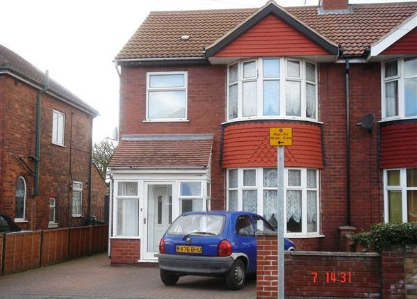 Thumbnail Semi-detached house to rent in Newland Avenue, Scunthorpe