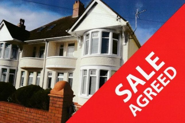 Thumbnail Semi-detached house for sale in Eithen Place, Porthcawl
