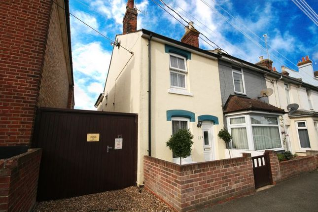 3 bed end terrace house for sale in Colne Road, Brightlingsea CO7
