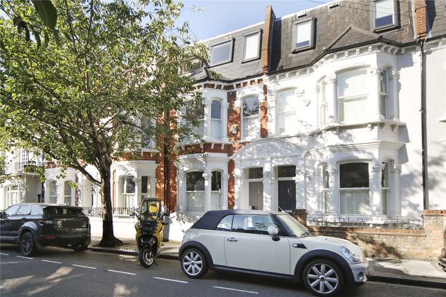 Thumbnail 3 bed terraced house for sale in Linver Road, London