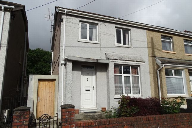 Thumbnail Semi-detached house for sale in 16 Gordon Road, Llanelli, Carmarthenshire