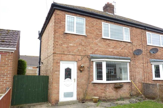 Thumbnail Semi-detached house for sale in Brian Avenue, Waltham, Grimsby