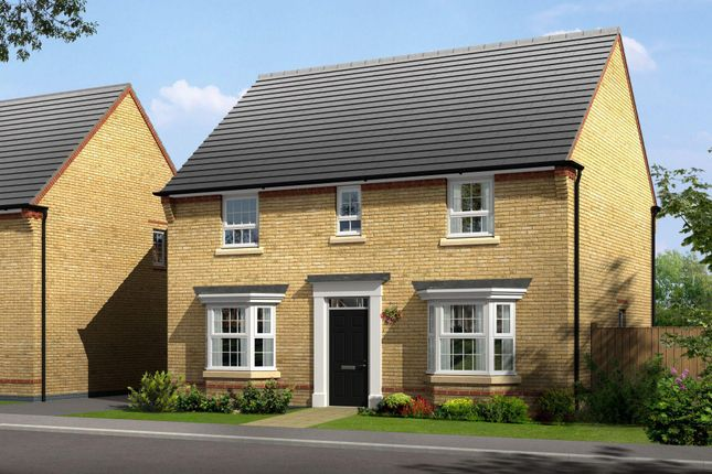 "Thumbnail Detached house for sale in ""Bradgate"" at Wellfield Way, Whitchurch"