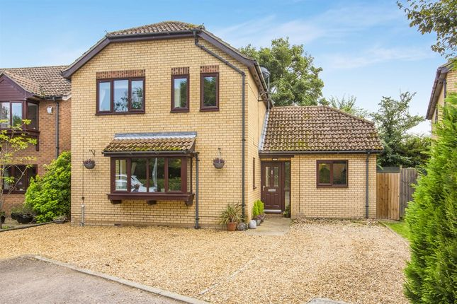 Thumbnail Detached house for sale in Rectory Leys, Offord D'arcy, St. Neots