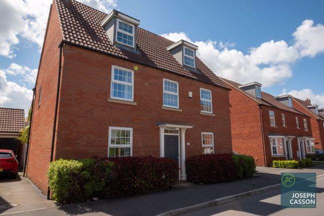 5 bed detached house for sale in Clover Way, Wilstock Village, Bridgwater TA5