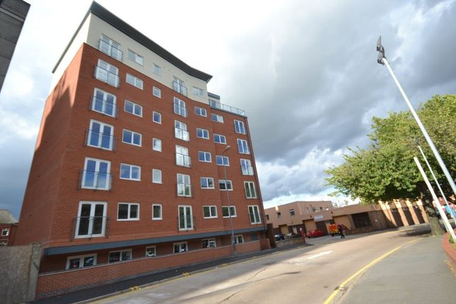Thumbnail Flat to rent in Crecy Court, Lee Circle, Leicester