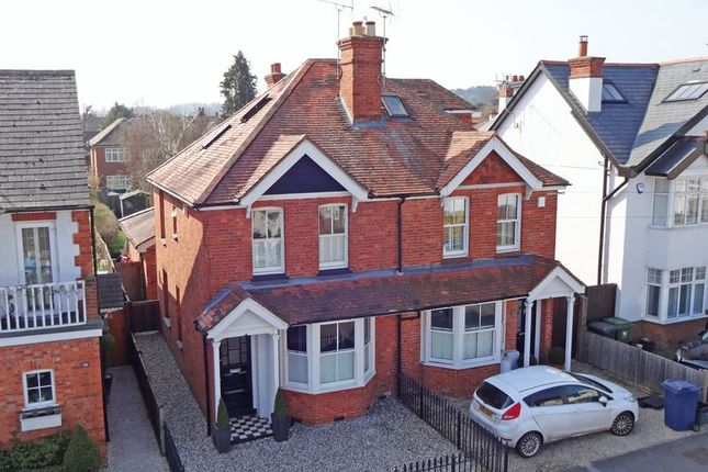 Thumbnail Semi-detached house for sale in Glade Road, Marlow