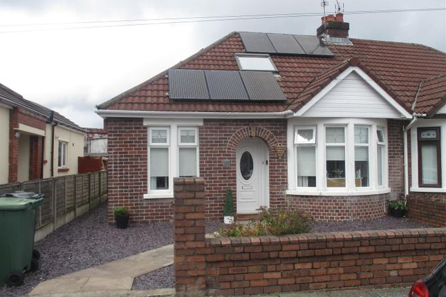 Thumbnail Semi-detached bungalow for sale in Finchley Road, Fairwater, Cardiff