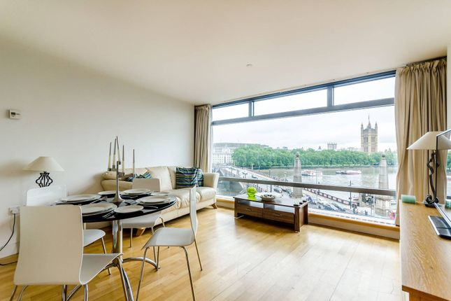 Thumbnail Flat for sale in Parliament View Apartments, Albert Embankment, Westminster