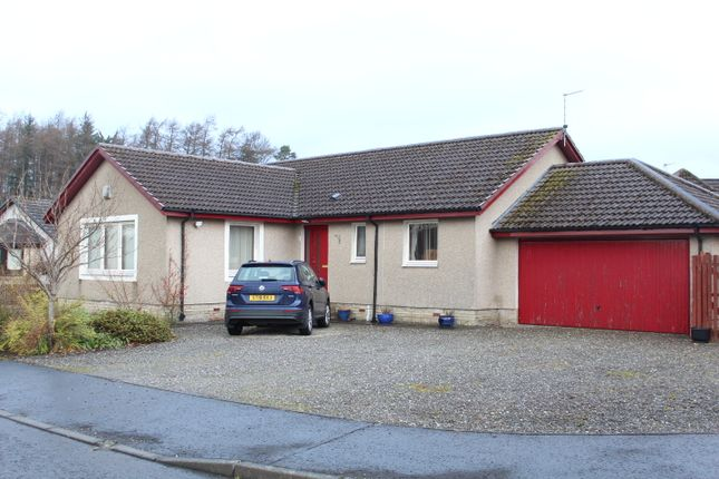 Thumbnail Detached bungalow for sale in 8 Commanders Grove, Braco