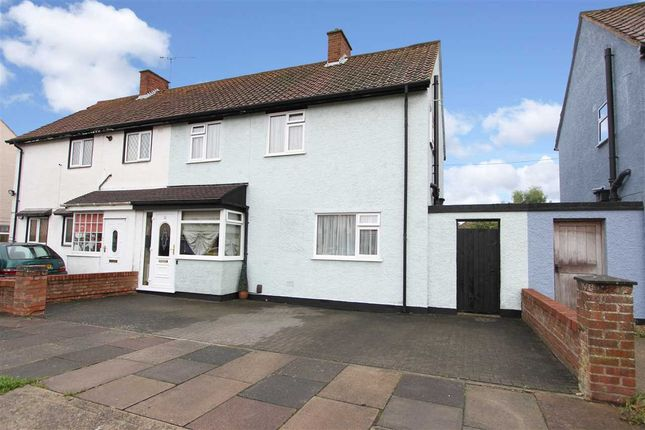 Thumbnail Semi-detached house for sale in Caithness Close, Ipswich