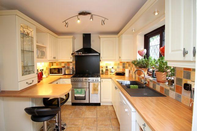 Kitchen of Lark Rise, Brackla, Bridgend County. CF31