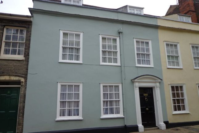 Thumbnail End terrace house to rent in Guildhall Street, Bury St. Edmunds