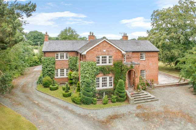 Thumbnail Detached house for sale in Knolton, Overton, Wrexham, Clwyd