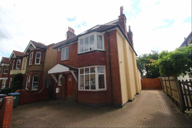 Thumbnail Detached house to rent in Oxhey Avenue, Watford