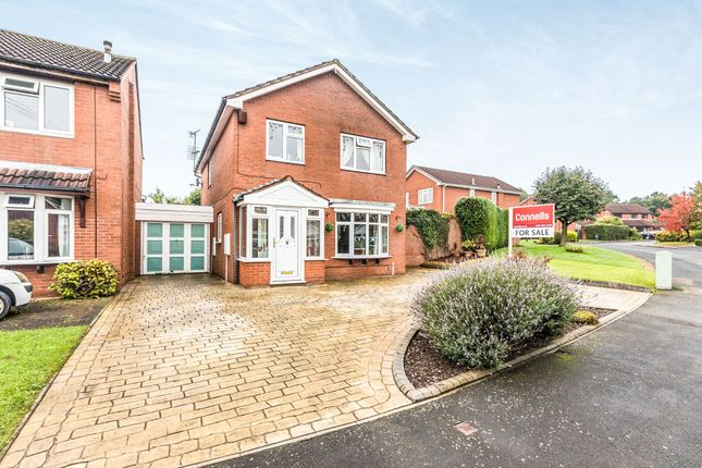 Thumbnail Link-detached house for sale in Gleads Croft, Halesowen