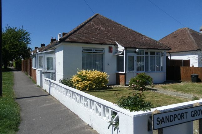 Thumbnail Detached bungalow for sale in Sandport Grove, Portchester