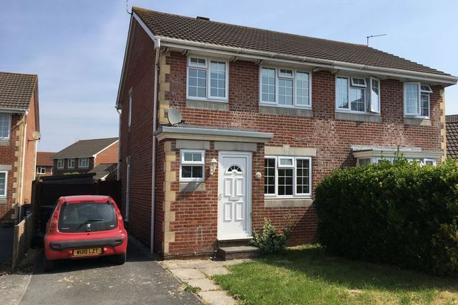 Thumbnail Semi-detached house to rent in Sophia Gardens, Weston-Super-Mare