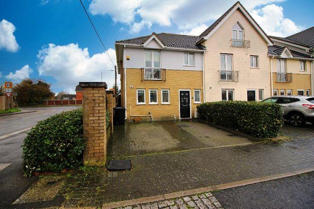 3 bed end terrace house for sale in Pursey Close, West Kingsdown, Sevenoaks TN15
