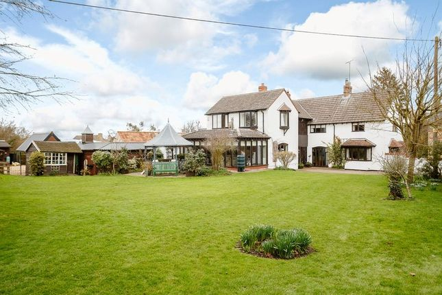 Thumbnail Detached house for sale in Lutton, Peterborough