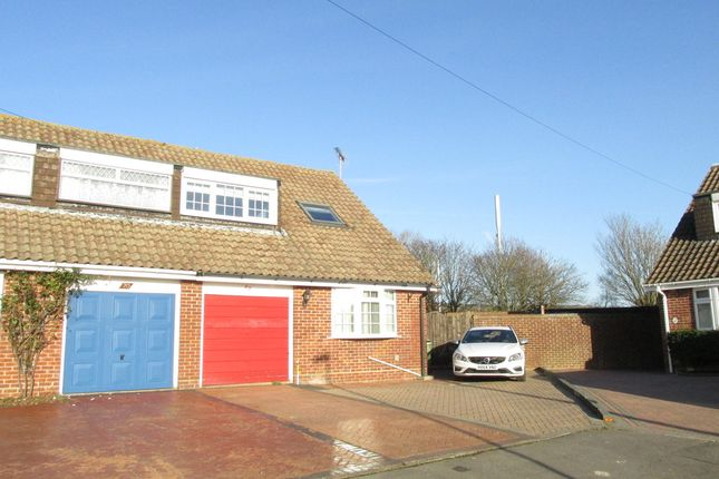 Thumbnail Semi-detached house for sale in Hatherley Crescent, Fareham