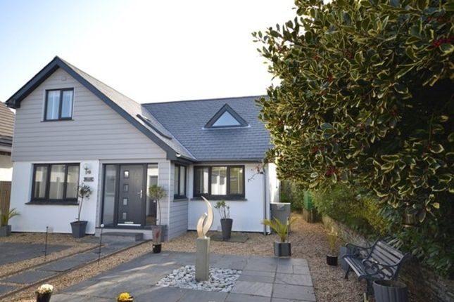 Thumbnail Detached house for sale in Halvarras Road, Playing Place, Truro