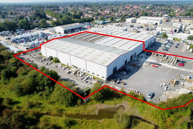 Thumbnail Warehouse for sale in Road Beta, Middlewich, Cheshire
