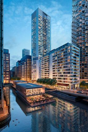 Thumbnail Flat to rent in Park Drive, Canary Wharf, London