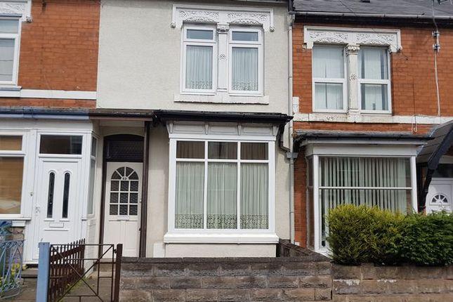 Thumbnail Terraced house for sale in Marlborough Road, Bearwood, Smethwick