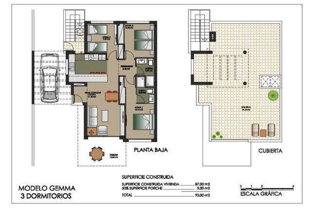 Blueprints of Calle Ana María Matute 03189, Orihuela, Alicante